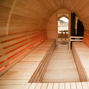 LED for sauna