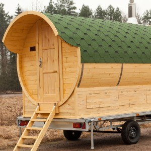 Sauna 'Barrel' Mobile